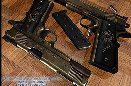 Castor Troy's Golden 1911