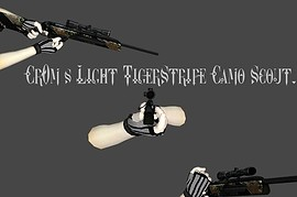 Cr0m's Light TigerStripe Camo Scout