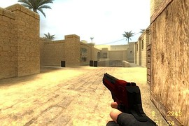 Havoc Red and Black deagle