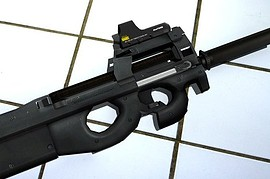 P90 Tactical with wees