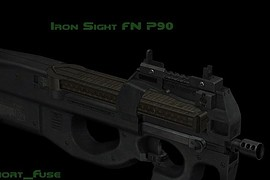 Iron Sight FN P90
