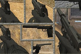 Default USP on -WildBill- anims