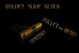Golden slide - glock 19
