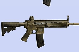 CQB hk416 for mp5