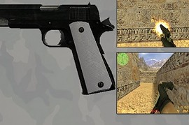 Partly Rusted Colt 1911 .45