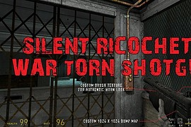 Silent's War Torn Shotgun
