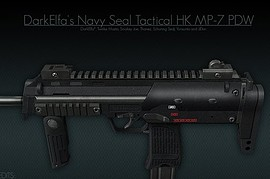 DarkElfa s Navy Seal Tactical HK MP-7 PDW