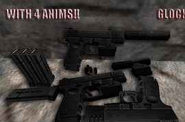Glock 30 with 4 anims