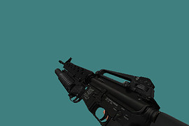 M16А1 with M203 HD