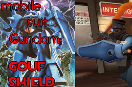 Mobile Suit Gundam Gouf Shield