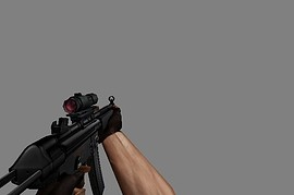 HK MP5 with Scope