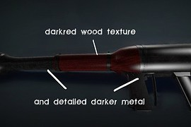 Darker DH with new textures HD