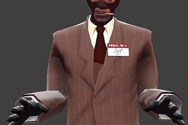 Spy's Name Tag