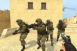 CoD:AW North Korean Soldiers