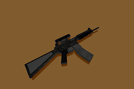 Armalite AR18С from optic