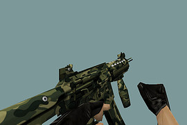 Ultima SMG M4A9000 + textures