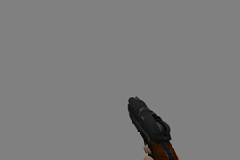 Pistol from DOOM 3 (with ammo)