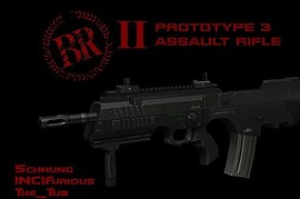 Prototype 3 Assault Rifle