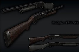 Remington 870AE Revised