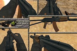 AKS-74 on DaEllum67 anims
