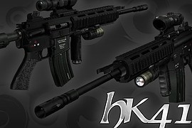 SpecOps HK416 Tactical With Acog