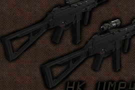 UMP45 Spec Ops Scope Variation