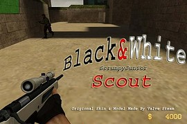 Black White Scout