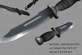 Resident Evil 2 Knife (My 2nd model)