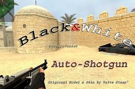 Black_White_Auto_Shotgun