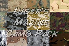 Luger_s_Marine_Camo_Pack