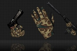 Fullfinger_Camo_Gloves