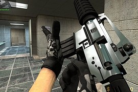 Two_Tone_Chrome_M4a1