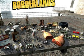 Borderlands Models - Pickups