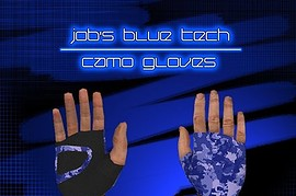 Jobs_Blue_tech_camo_Gloves
