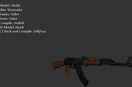 Wannabe s AK47 with Default Anims