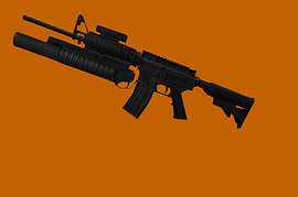 M16A1L with M203