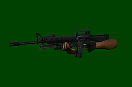 M16A1 with M203