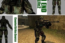 HALO Master Chief For HL2