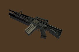 M4A1 with M203 & Heartbeat