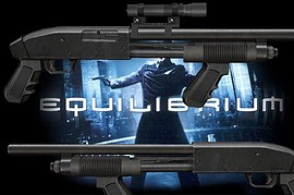 Custom Equilibrium Tactical Shotgun