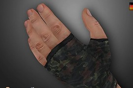 German_Flecktarn_Camo_Gloves