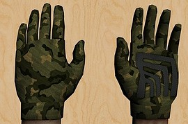 G-FLOW_s_green_camo_gloves