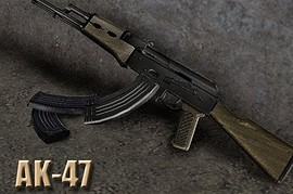 TehSnake s AK-47 with 4 anims