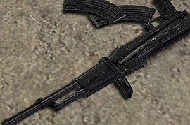 Teh Snake s AK-47 compact version