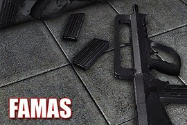 Famas (Iron type) + TS arms