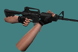 Anklar s M4A1