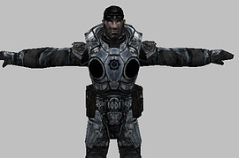 Gears of War Marcus white