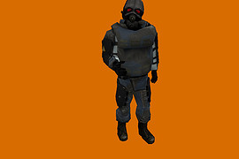 HL2 Beta Combine red eye