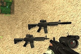 CQB_M4A1_fixed_model_improved_finger
