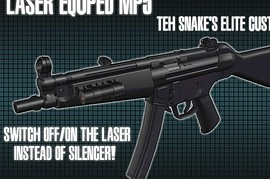 Twinke  Stoke mp5 with laser sight (ON OFF)